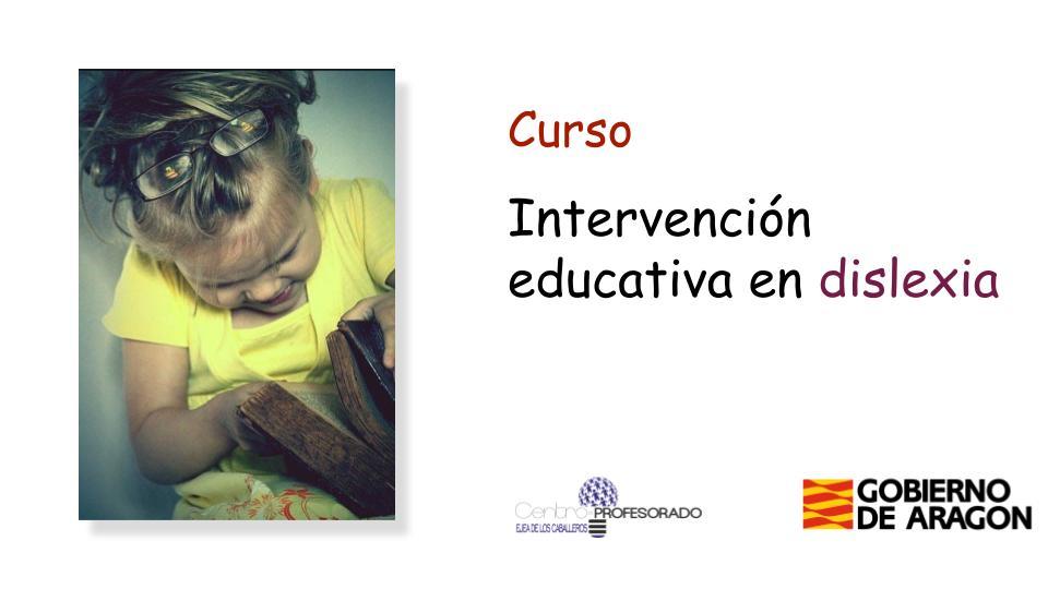 intervencion educativa dislexia