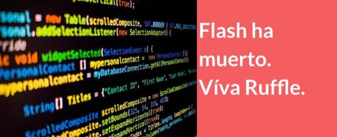 Flash ha dejado de funcionar